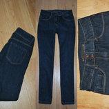 Темно синие джинсы next slim размер ХС-С 8