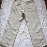 Легкие льняные брюки Next Марокко. 34 R /86 см