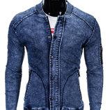 Мужская джинсовая куртка парка