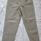 Очень плотные бежевые джинсы Next. Англия. 30 р.