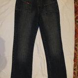 Своеобразные темно-синие джинсы XL colection 10 р.