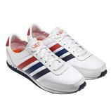 Кроссовки Adidas V Racer Nylon - белые
