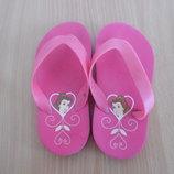 Кроксы аквашузы ветнамки 17 см детские ОРИГИНАЛ обувь для пляжа бассейна Disney Дисней как новые