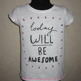 На 6 лет Модная футболка Next девочке