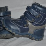 Детские высокие ботинки сапоги синие Mothercare Мазекеа