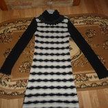 Плаття тепле вязка