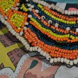 Блуза.майка Топ в африканском стиле