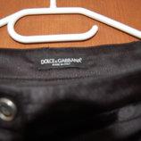 брюки черные Dolce&Gabbana р.36 Италия