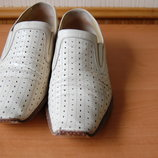 Туфли Vinicio Camerlengo, итальянские, бежевые, 42