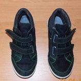Фирменные замшевые кроссовки RecostaТех для мальчика, 19 см