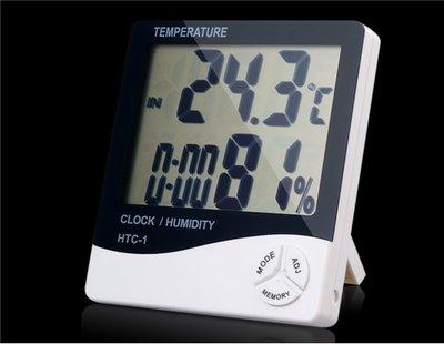 Метеостанция часы, электронный термометр HTC