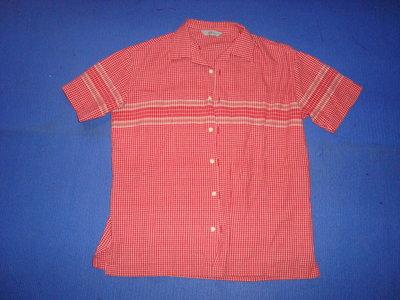 Рубашка мужская с коротким рукавом в мелкую клетку. Размер UK CDN EURO 41 см 16