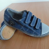 кроссовки кеди мокасины детские белые синие серые 20,5 см Next Некст оригинал