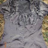 Блуза с коротким рукавом 48-50 размер.