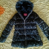 куртка леопард р.128 теплая зима ,холодная весна-осень