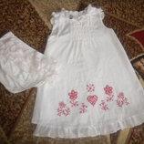 фирменное платье для девочки с вышивкой подарок