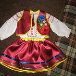 прокат святкового національного костюма і вишиванки на 2-3 роки