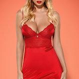Lovica Obsessive красный пеньюар с поддержкой груди