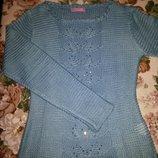 Нарядна новенька кофта, светрик нарядная кофта, свитер , р.S