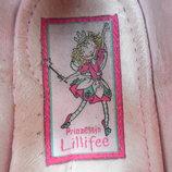Туфли балетки для девочки кожаные замшевые 24 рр 15,5 см
