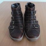 Ботинки берцы Деми туфли кожаные снигерсы мужские 29 см 42рр