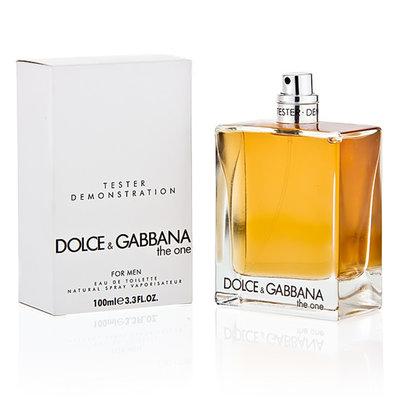 Dolce&Gabbana The one for Men 100 мл тестер для мужчин