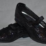 Туфли для праздника девочке малышке в блестку