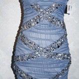 новое Шикарное ,брендовое B.Darlin вечернее,выпускное платье из Америки р. 44-46