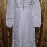 брендовое платье в пол лен