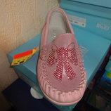 Демисезонные мокасины 32 р. 20,5 см. на девочку кожа макасины, туфли, мокасіни, туфлі, макасіни
