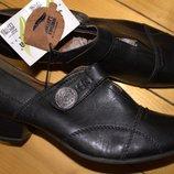 Оригинал туфли Jana размер 7, стелька 27 см. Кожа