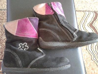 Продам замшевые ботиночки