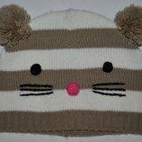 Шапочка шапка для девочки фирменная девочке 3 - 6 лет