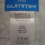 Летние брюки Marks&Spencer поп 43 см.