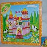 Деревянная игрушка Пазлы Принцессы и Пираты