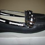 Нові дихаючі повністю шкіряні бразильські туфлі GEOX RESPIRA Оригінал Бразилія р.37 стелька 24,5 см