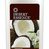 Desert Essence Крем для волос с кокосовым маслом для смягчения и увлажнения вьющихся волос.