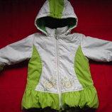 красивая курточка пальтишко на девочку на 2-5 лет