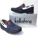 Модные Мокасины, туфли Kellaifeng 27-32р. Качество в наличии