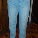 Классные светлые джинсы на лето 52-56 р-р