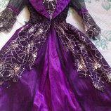 платье ведьмы на Хэллоуин прокат на 7-8 лет