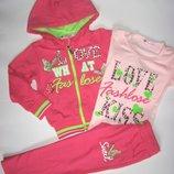 Спортивный костюм для девочки р.98-128