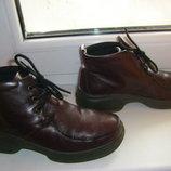 Замечательные кожаные ботинки AMBRE of Denmark 34 - 36 р.