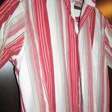 рубашка мужская шведка модная L 100% cotton