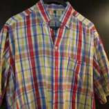 рубашка мужская шведка модная M 100% cotton