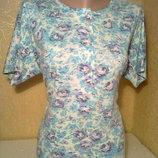 Летняя кофта,футболка на колоритную женщину размер 54-56, б/у