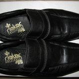 Туфлі брендові ортопедичні шкіряні Rieker Antistress Оригінал Німеччина р.43 стелька 28 см