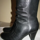 Нові стильні шкіряні чобітки Clarks Soft wear Оригінал Бразилія р.5,5 стелька 24,5 см