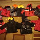 детские зимние курточки.на мальчиков и девочек.оригинал. 12 - 18 и 24 месяца