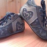 Кожано-Замшевые ботиночки Geox